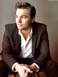 Leonardo Dicaprio. My heart stopped beating.