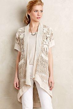 Crocheted Lana Cardi