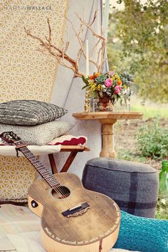 can you hear the music... the birds... see the simple finds. :)  Found Vintage Rentals - Home - ˙˙˙BohemianStyle...