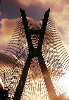Ponte Octávio Frias de Oliveira - Morumbi - São Paulo.