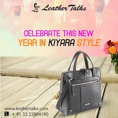 Get the high street fashion at crazy unbeatable prices only at Leather Talks. Be in trend this year-end with our exclusive new #kiyara handbag. #eyegrabbing #pureleather http://leathertalks.com/product/kiyara-4/