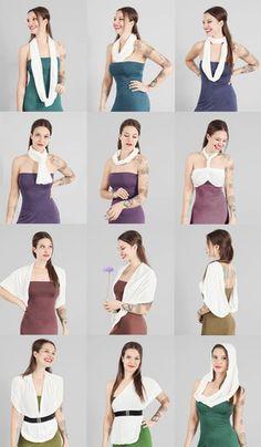 Collections | HipKnoTies Multi Way Convertible Dress
