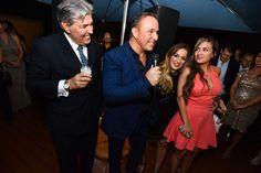 Fernando Valdivieso, Moses Bensusan, Esther Bensusan, Vanessa Escobar (Meliá Costa Hollywood) #MCHParty