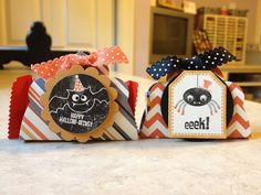 Catherine Loves Stamps: Tricky Treats Treat Holders  Stampin up 2