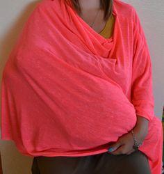 Poncho Nursing Cover by LBNursingcovers on Etsy
