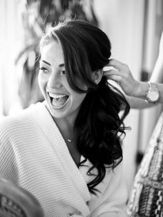 Wedding Hair Inspiration: 12 Ways to wear your Long Hair Down. Photo by Cristina G Photography