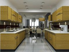 Kitchen Designing Online Parallel Shaped Modular Kitchen  Parallel Shaped Modular Kitchen