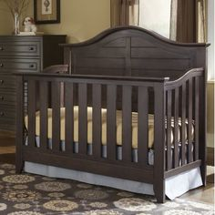 Camden 4 In 1 Convertible Crib Toddler BedChanging