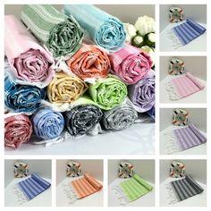 Personalized, custom, wedding favors, gifts, bag fillers' peshtemals https://fabricdome.com/collections/turkish-peshtemal-towels/products/turkish-peshtemal-towel-palace-style-lilac