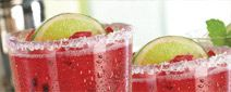 Friday's Skinny Blackberry Margarita  calories: 130  Love this Drink!      Sauza® Gold Tequila, house-made skinny agave sour, blackberries, fresh-squeezed lime
