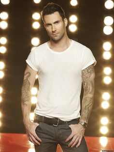 Adam Levine - You delicious piece of meat, you!  *sigh*