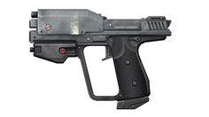 Halo M6D Pistol/Gun 3D Paper Model #Affiliate
