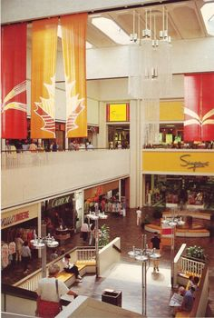 Department Stores then and now-Sherway Gardens