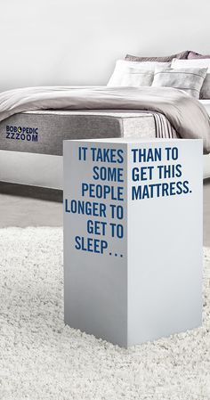 When it comes to a better mattress, think inside the box. Buy now. Sleep soon.