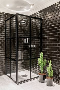 bad nummer ferdig - Caroline Berg Eriksen - Lilly is Love Bathroom Niche, Diy Bathroom, Laundry In Bathroom, Small Bathroom, Bathroom Ideas, Bathroom Inspo, Washroom, Bathroom Lighting, Black Tile Bathrooms
