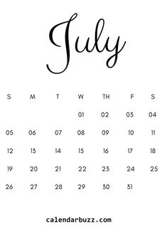 July 2020 Minimalist Calendar Printable in black and white. Get this calendar and start managing this month in a new way. July Calendar, Print Calendar, Kids Calendar, Calendar 2020, Calendar Design, Schedule Calendar, Pink Wallpaper Laptop, Bts Black And White, Calendar Wallpaper