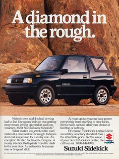 1989 Suzuki Sidekick