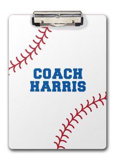 baseball stitch font | Home › Gift Ideas › teacher gifts › Baseball clipboard ›