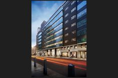 One New Oxford Street London, Commonwealth House, Green Pyrolave UK Bricks/Tiles Oxford Street London, New Oxford, Brick Tiles, Commonwealth, Cladding, Bricks, Multi Story Building, Art Deco, Green