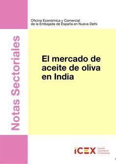 Nota sectorial. el mercado de aceite de oliva 2012 india