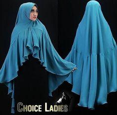 Bilqis Khimar Instant Hijab One Piece Slip On Scarf Long Amira Abaya Jilbab
