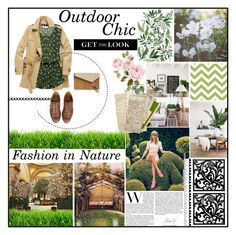 """""""outdoor chic"""" by holly-elizabeth ❤ liked on Polyvore featuring Burberry, Baldwin, Henri Bendel, Keds, NOVICA, GALA, Summer, Jumpers, nature and summerstyle"""