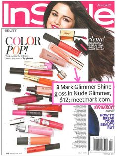 mark's Glimmer Shine Lip Gloss featured in @Anna Totten Totten Lynch  ORDER your mark lip gloss at www.YourAvon.com/cvmack