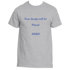 You have had an idea for a tee shirt, but have no way of printing it up...Till…