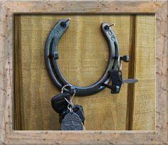 key holder-Marks Custom Horseshoe Art For Sale
