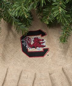 South Carolina Gamecocks Personalized Tree Skirt