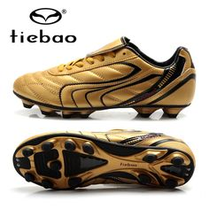 47.20$  Watch here - http://aliefp.worldwells.pw/go.php?t=32747243492 - TIEBAO Professional Men Soccer Shoes Top Quality Outdoor Athletic Sports Football Shoes Boots Adult AG Soles Sneakers Cleats