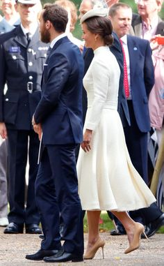 pippa middleton christening | And Pippa Middleton again reminded us why she was such an attention ...