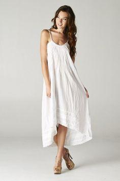 Catch Bliss Boutique - White Paradise Tunic Dress, $38.00 (http://www.catchbliss.com/white-paradise-tunic-dress/)