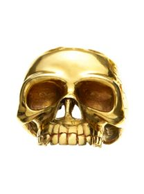 $1100? No thanks. I've got a skull already. It aint gold but I like it and I wear it every day.