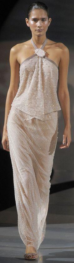 Armani Prive Fashion Show Details