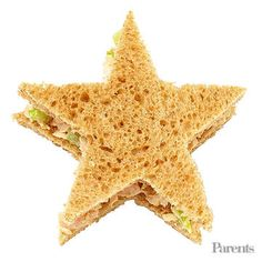 Tuna-fish sandwich stars Blueberries Edamame in shells (more fun to pop!)
