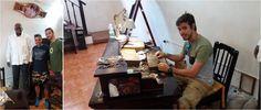 Cueto fabricante de puros en la habana