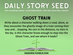 Write about a character walking down a road, alone, as they encounter the ghastly image of a train coming their way and... stopping. No cars in the distance, no stars in the sky. Is this character brave enough to step into the Ghost Train, and see where it leads?