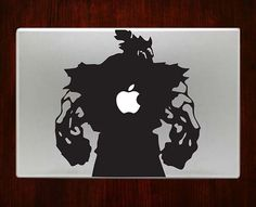 """street fighter akuma Decal Sticker Vinyl For Macbook Pro/Air 13"""" Inch 15"""" Inch 17"""" Inch Decals Laptop Cover"""