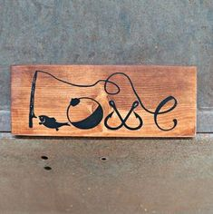 Fishing Love | Wood Signs | Rustic Sign | Love Sign | Photo Prop | Wedding Sign | Valentine's Day | Home Decor | Fishing Decor | Cabin Decor by TheFarmhouseSign on Etsy https://www.etsy.com/listing/528476038/fishing-love-wood-signs-rustic-sign-love
