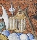 Très Belles Heures de Notre Dame de Jean de Berry, 1390-1410. detail.  http://upload.wikimedia.org/wikipedia/commons/5/51/Tr%C3%A8s_Belles_Heures_Notre-Dame_-_Arrestation_du_Christ%2C_f97.jpg