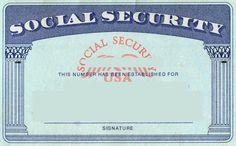 Blank Social Security Card Template | Social Security Card within Social Security Card Template Free
