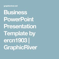 Business PowerPoint Presentation Template by ercn1903 | GraphicRiver