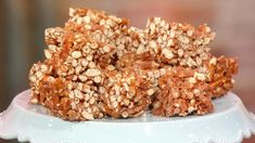 Marshmallow Pretzel Bars #nobake #pretzels #marshmallows #snacks