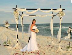 beautiful bridal - beach wedding