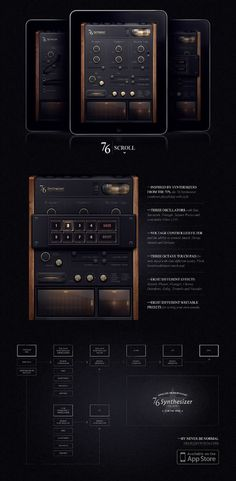Stunning Knobs, Sliders, and LCD Style Displays | Psdtuts+