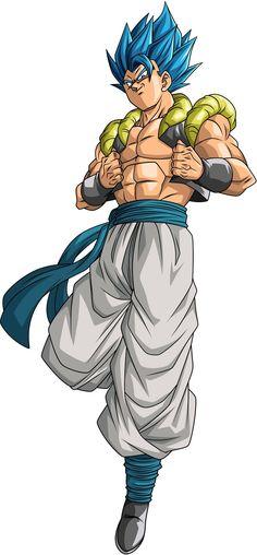 Dragon Ball Z, Dragon Ball Image, Broly Movie, Gogeta And Vegito, Dbz Characters, Fusion Art, Marvel, Digimon, Anime Art