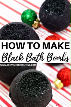 How to Make Black Bath Bombs with Activated Charcoal Learn how to make DIY bath bombs just like Lush at home. These homemade black bath bombs use activated charcoal to give you a dark gothic looking b Wine Bottle Crafts, Mason Jar Crafts, Mason Jar Diy, Black Bath Bomb, Best Bath Bombs, Diy Lush Bath Bombs, Galaxy Bath Bombs, Bombe Recipe, Homemade Bath Bombs