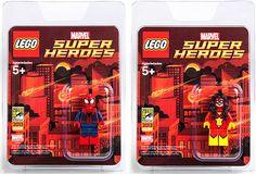 Comic-Con LEGO Super Heroes minifigs!