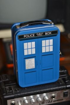Tardis Lunchbox- a must for doctor who fans!